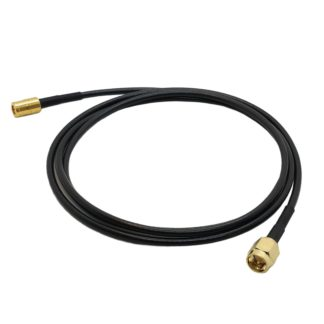 SMA to SMB cable, RG174