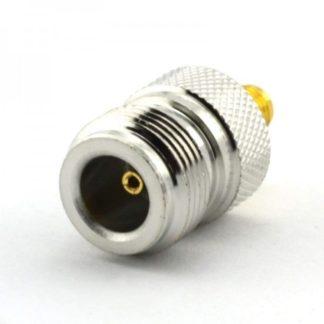 RF adapter SMA female to N female