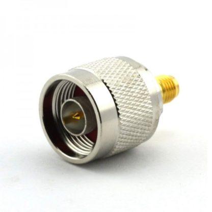RF adapter SMA female to N male